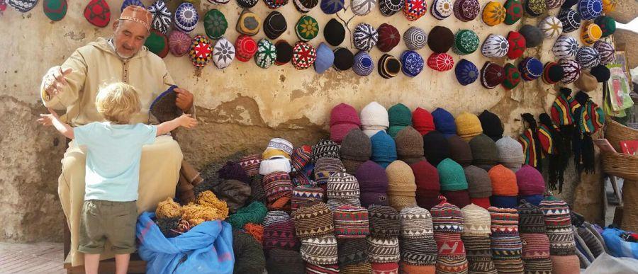 Essaouira with kids