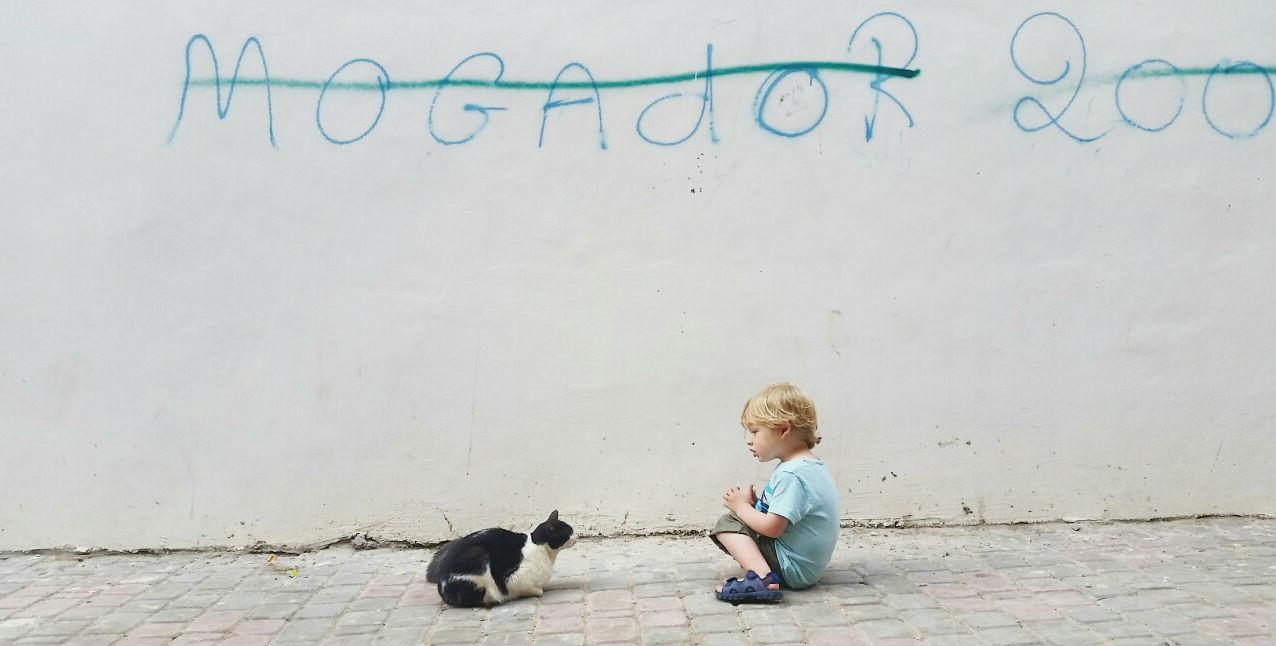 Essaouira with kids - Mogador