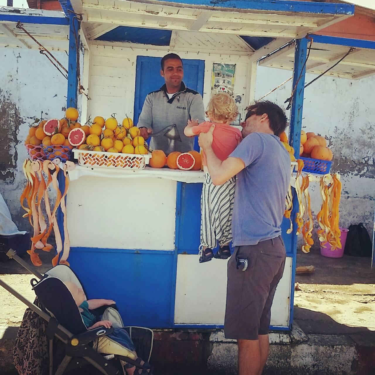 Essaouira with kids - OJ