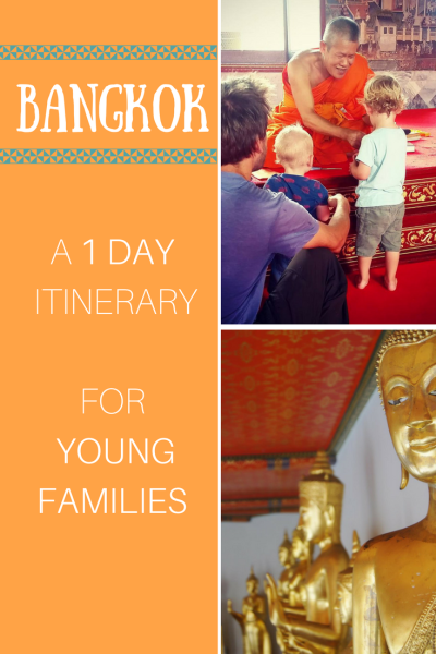 Travel Bangkok, Thailand, with kids. Day itinerary.
