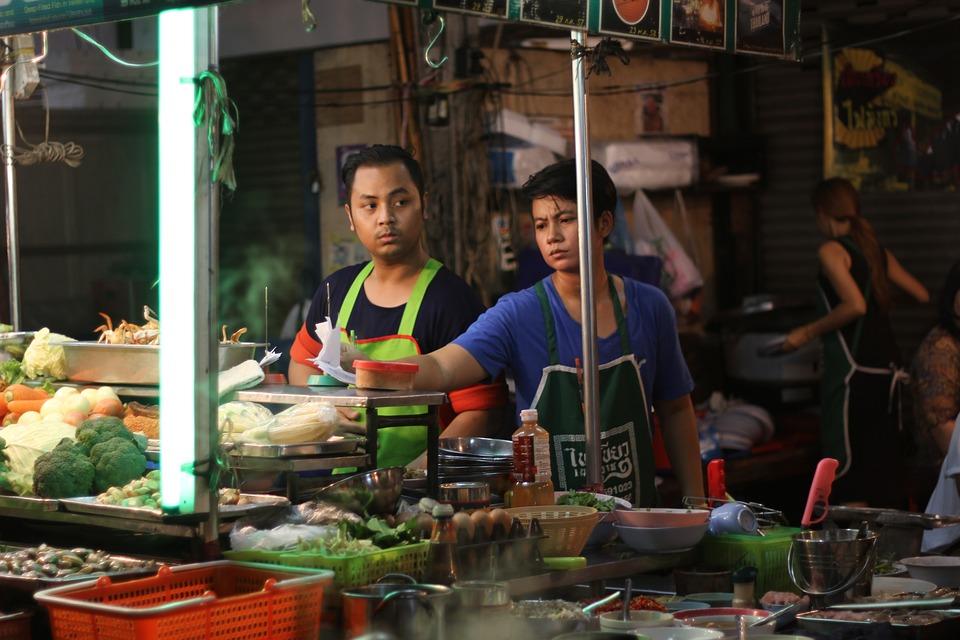 Bangkok with kids - China town