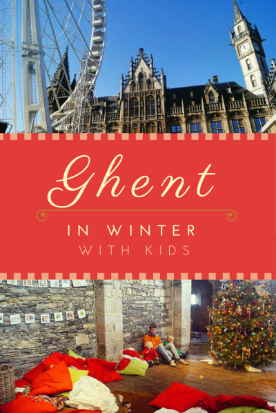 Travel Ghent with kids