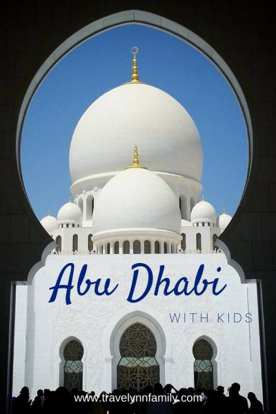 Abu Dhabi stopover with kids