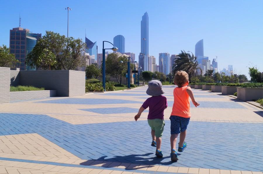 Abu Dhabi with kids