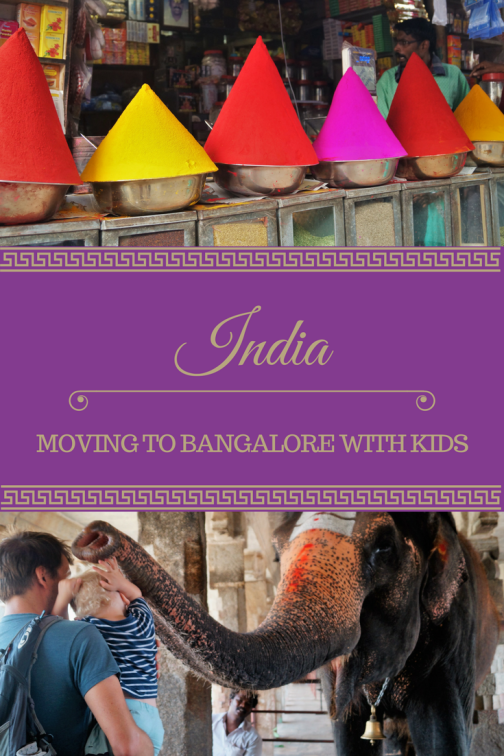Expat family blogger in Bangalore