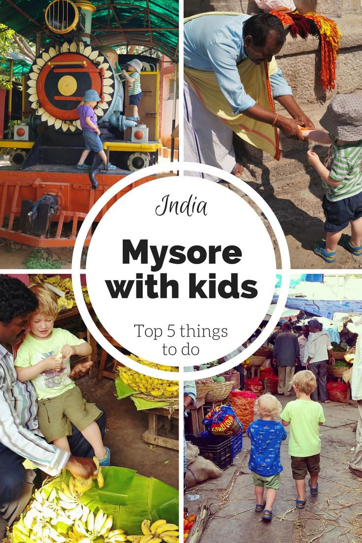 Mysore travel with kids