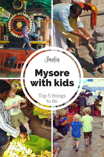 Mysore travel with kids