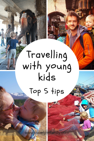 Top tips for travelling with young kids