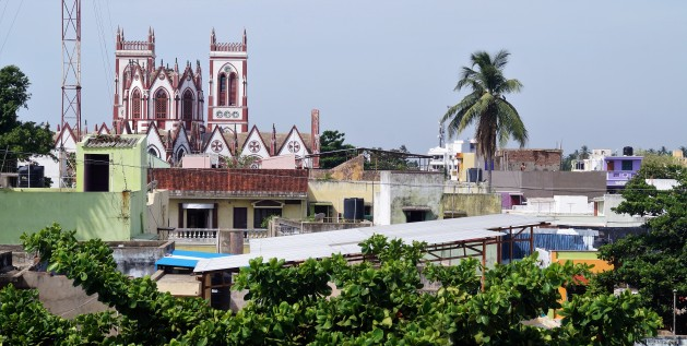 La Maison Radha rooftop view