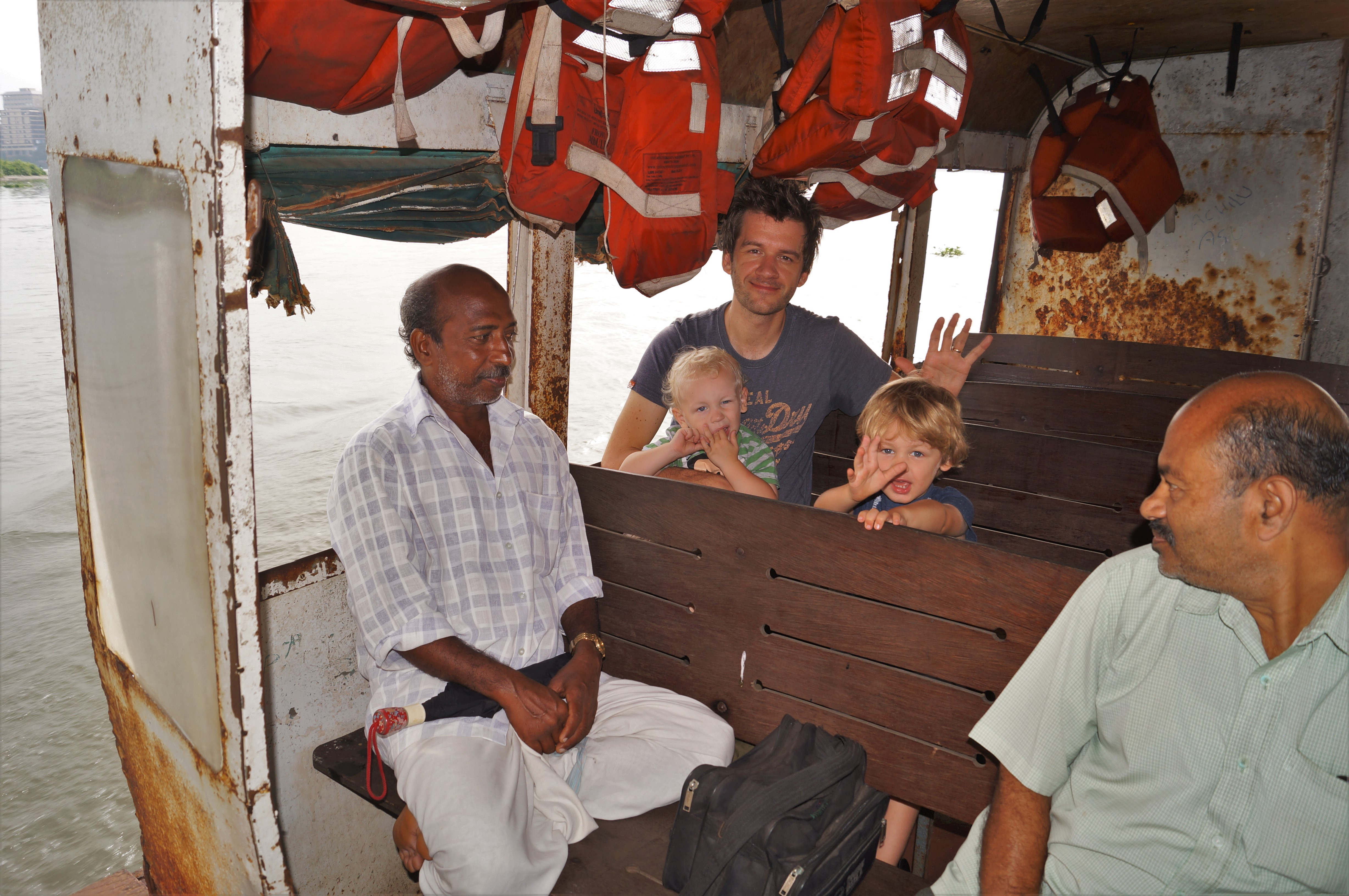 Ferry to Fort Kochi
