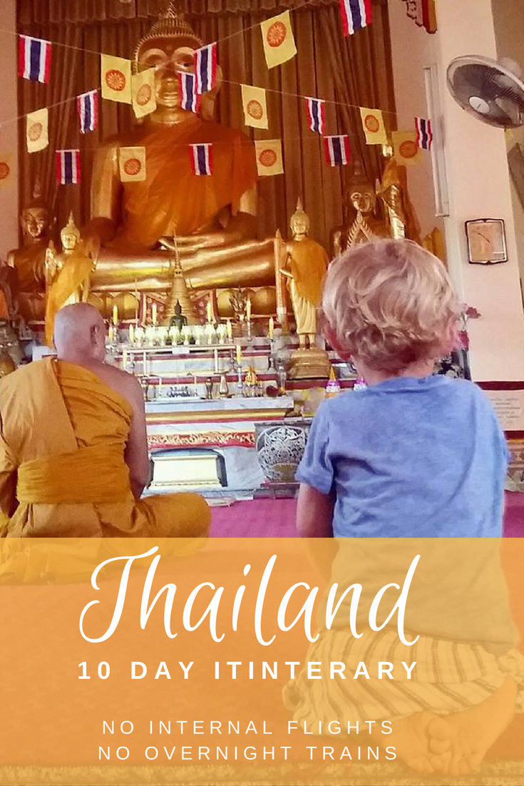 Travel Thailand with kids. A 10 day itinerary including Bangkok, Chathaburi and Koh Chang.