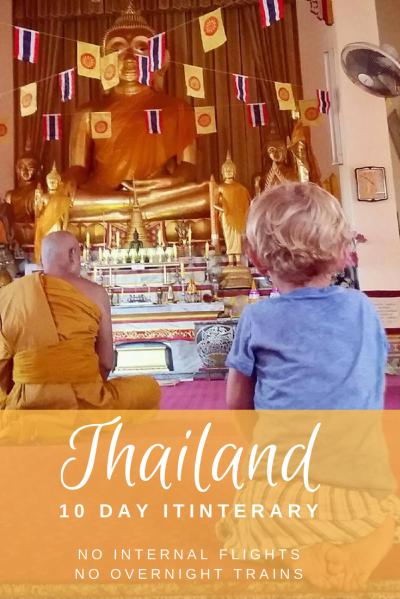 Travel Thailand with kids. A 10 day itinerary including Bangkok, Chathaburi and Koh Chang.