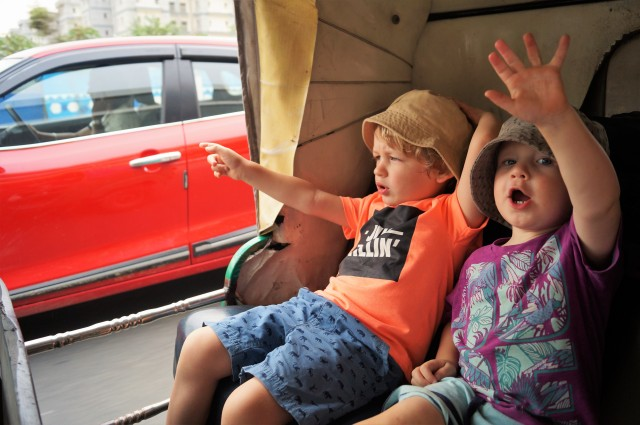 Bangalore auto with kids