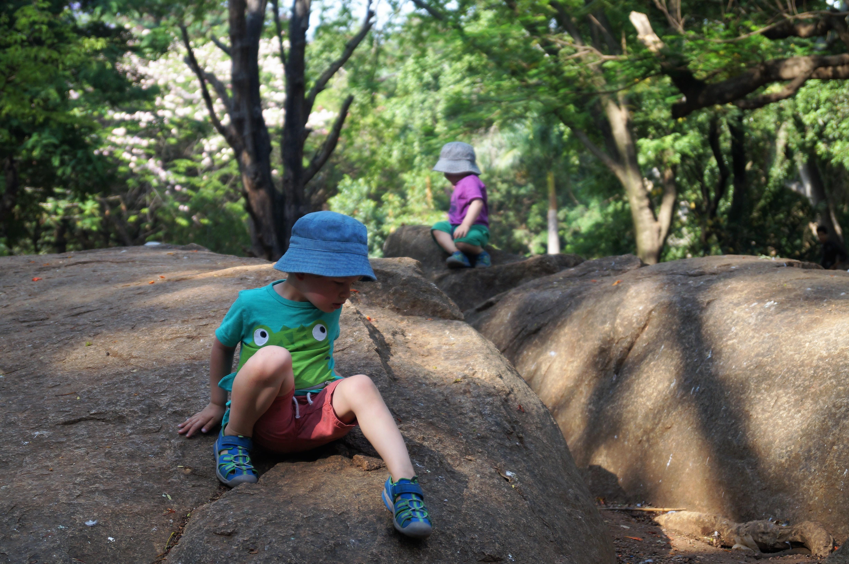 Cubbon Park, Bangalore with kids