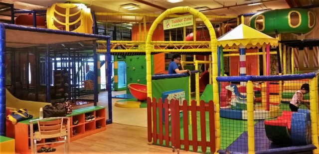 Funky Monkeys, Bangalore with kids