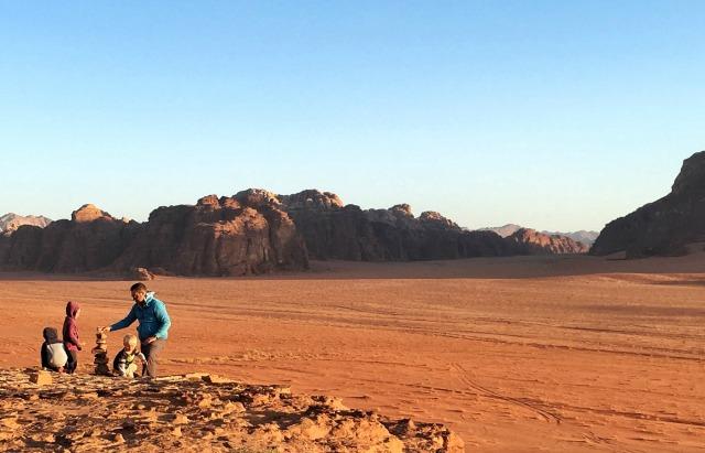 Wadi Rum with Kids