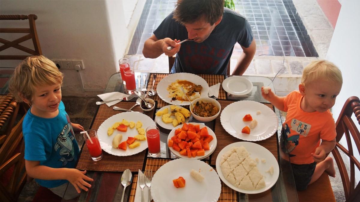 Anugaa breakfast