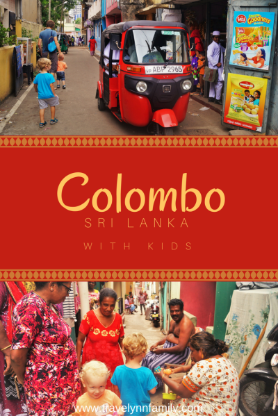 Colombo with kids - pinterest