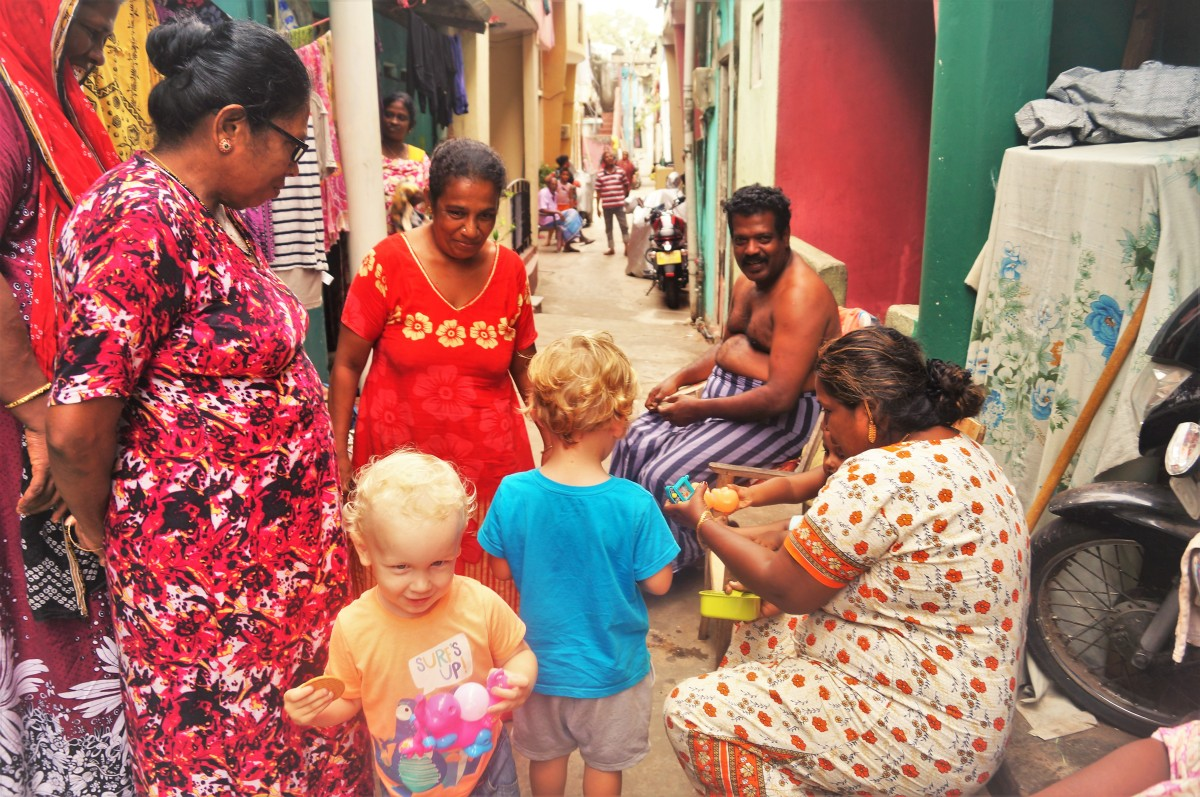 Colombo with kids - slave island