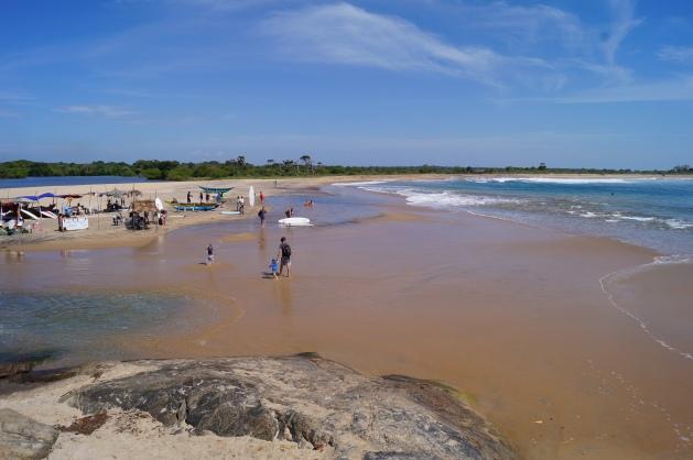 Arugam Bay with kids - Elephant Rock Beach
