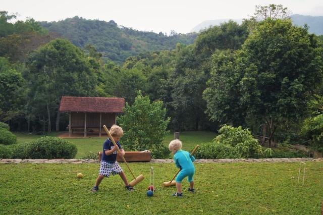 Living Heritage Koslanda - croquet