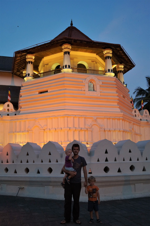 Sri Lanka Itinerary with kids - Kandy