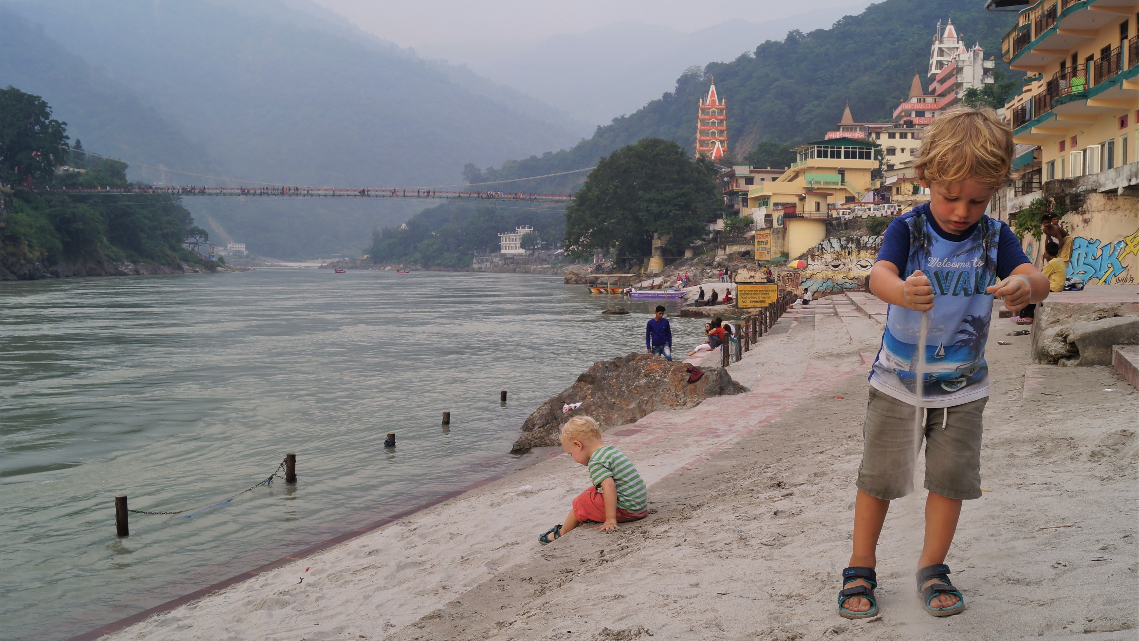 Northern India itinerary with kids - Rishikesh