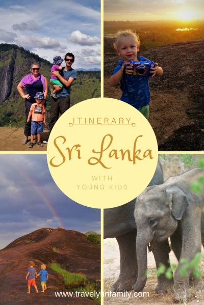 Sri Lanka Itinerary with young kids