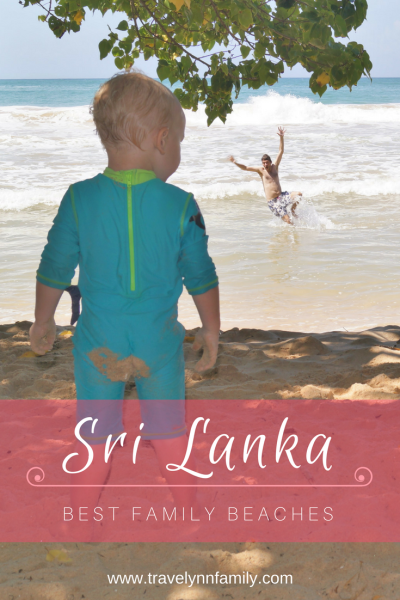 Best family beaches in Sri Lanka - pinterest