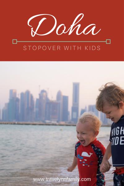 Doha stopover with kids - pinterest