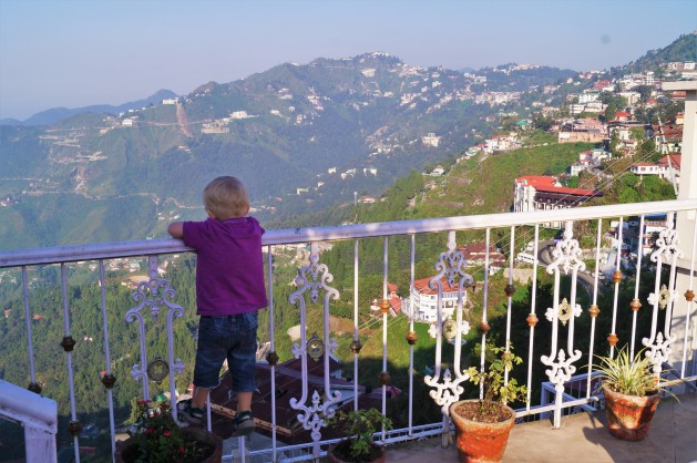 Northern India itinerary with kids - Mussoorie