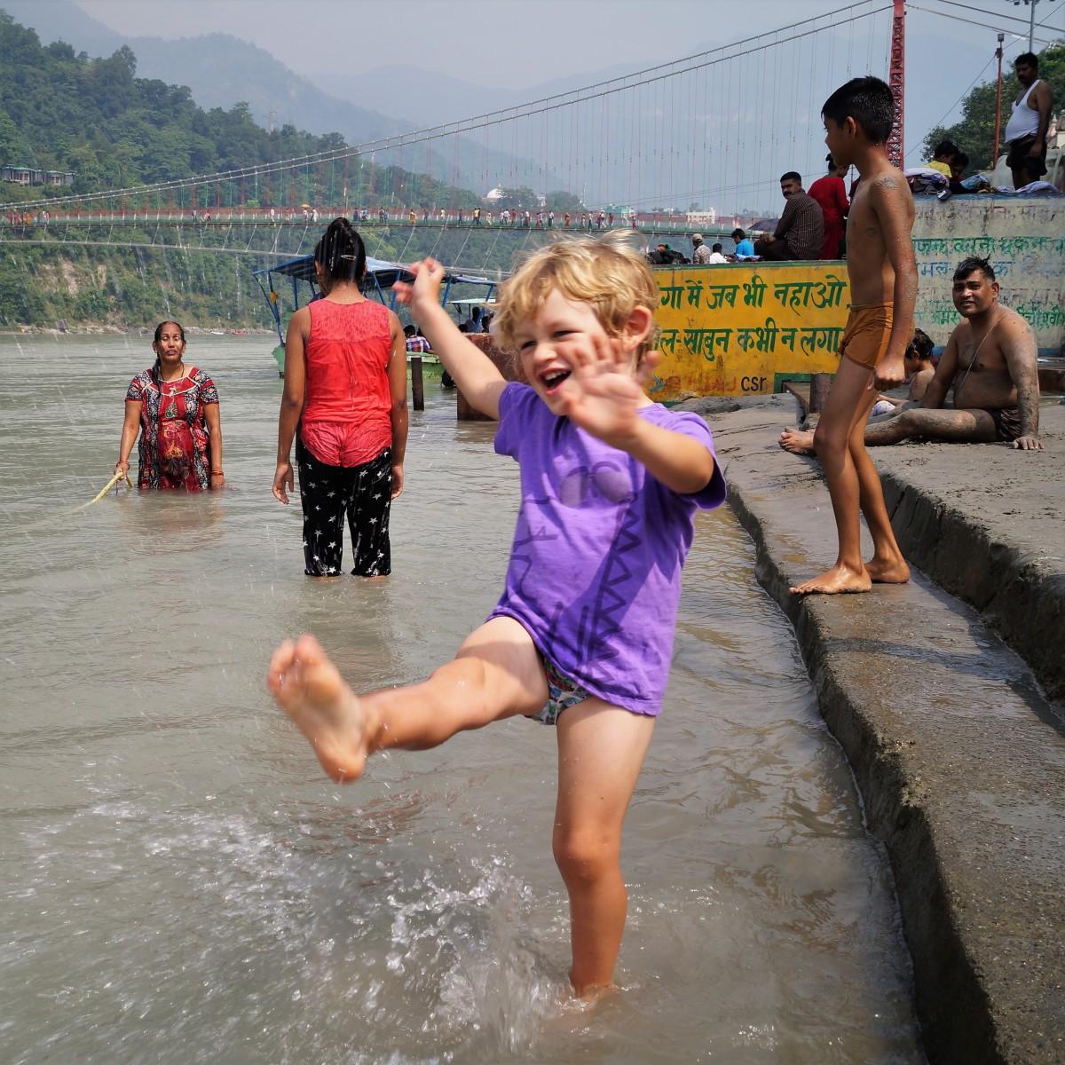 Rishikesh with kids