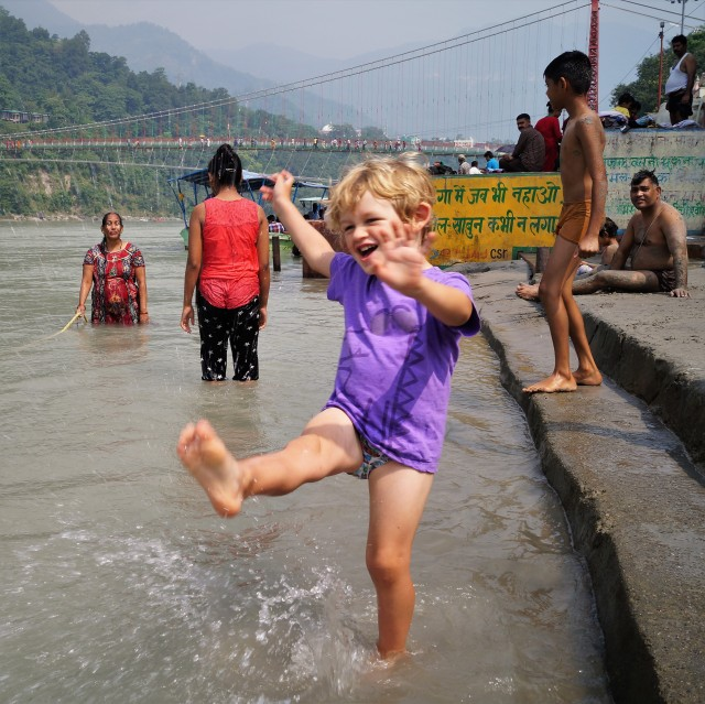 Rishikesh with kids