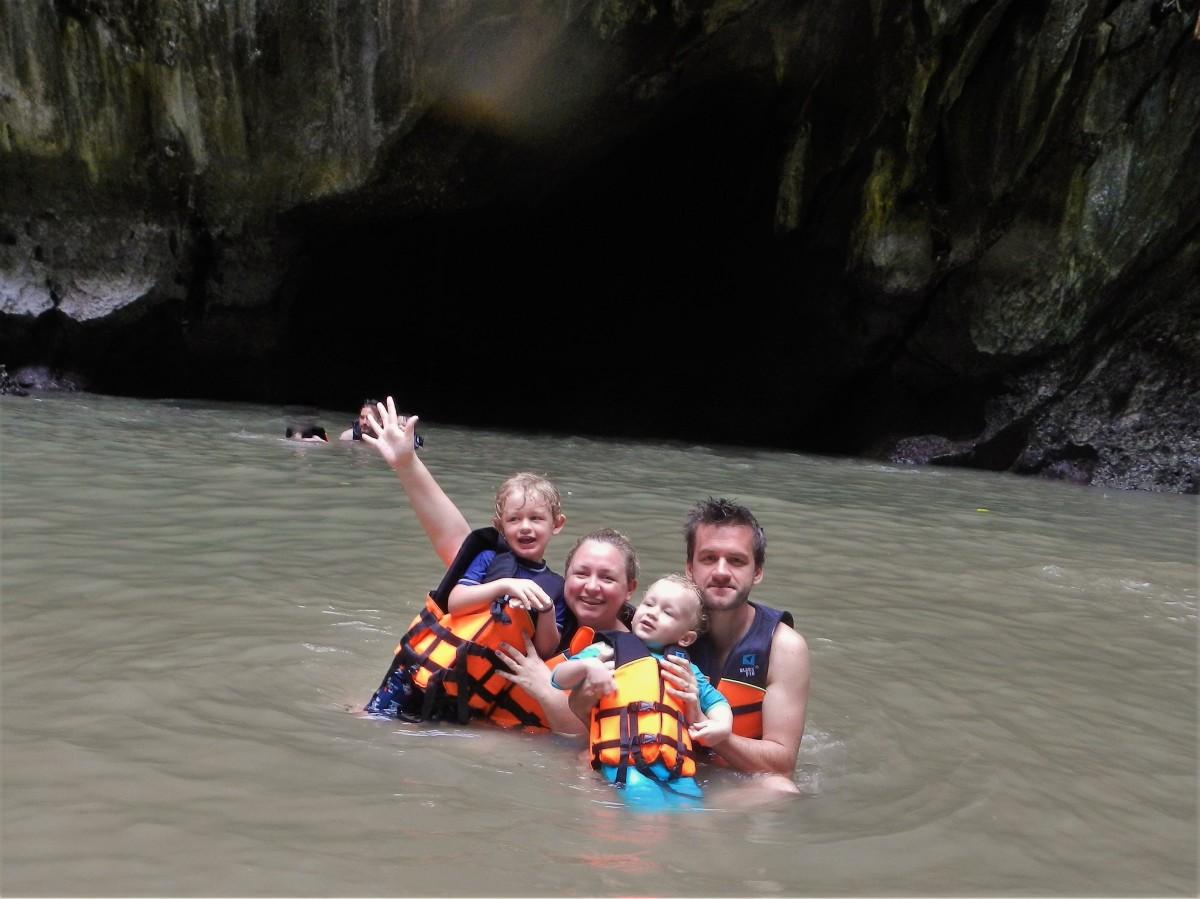Emerald Cave with kids, 4 Islands Tour, Lanta Garden Hill Tours