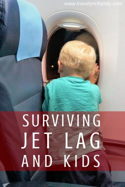 Jet lag and kids