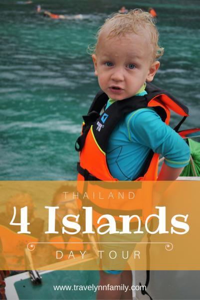 4 Islands Tour Thailand pinterest